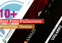 Best Free Fullscreen WordPress Themes