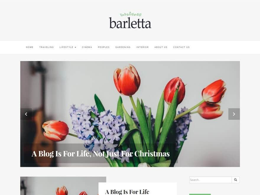 bartella - 50+ Best Free Responsive WordPress Themes 2019