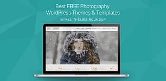Feature Image - Free Photography WordPress Theme