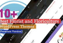 Best Premium Florist and Floriculture WordPress Themes