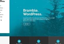Bramble: Premium Multipurpose WordPress Theme