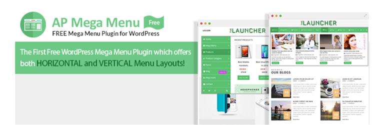 ap mega menu free wordpress mega menu plugin - How to add Mega Menu on WordPress Website Using AP Mega Menu plugin? (Step by Step Guide)