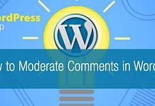 How to Moderate Comments in WordPress