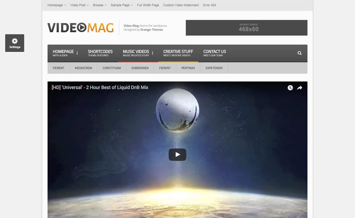videomag best video wordpress theme - 15+ Best Responsive WordPress Video Themes 2019
