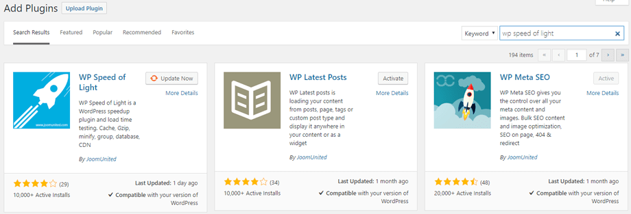 wp speed of light install - WP Speed of Light - Best Plugin to Speed Up your WordPress Site