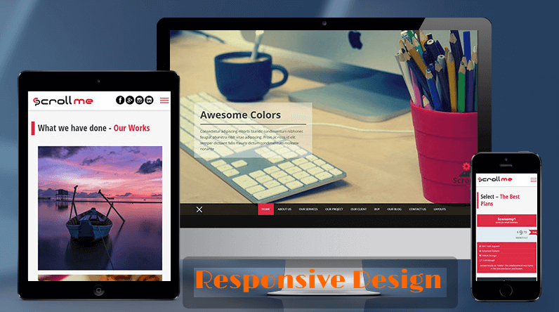 responsive design - On-Page SEO Guide - How to Optimize your WordPress Blog