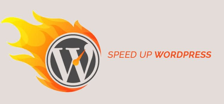 wp speed - How to Speed Up Your WordPress site - Optimization Tips