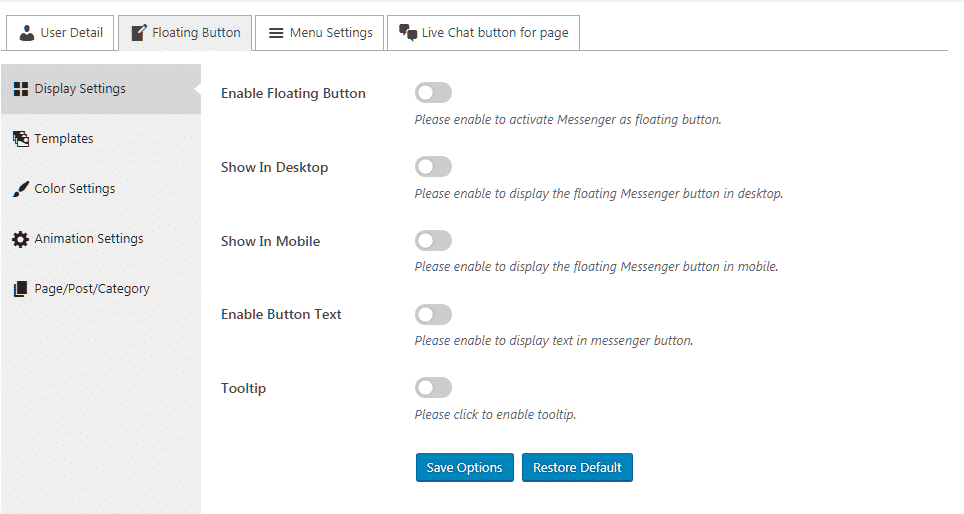 display settings - How to add Viber/Messenger/Whatsapp/Skype Contact Button on WordPress website? (Step by Step Guide)