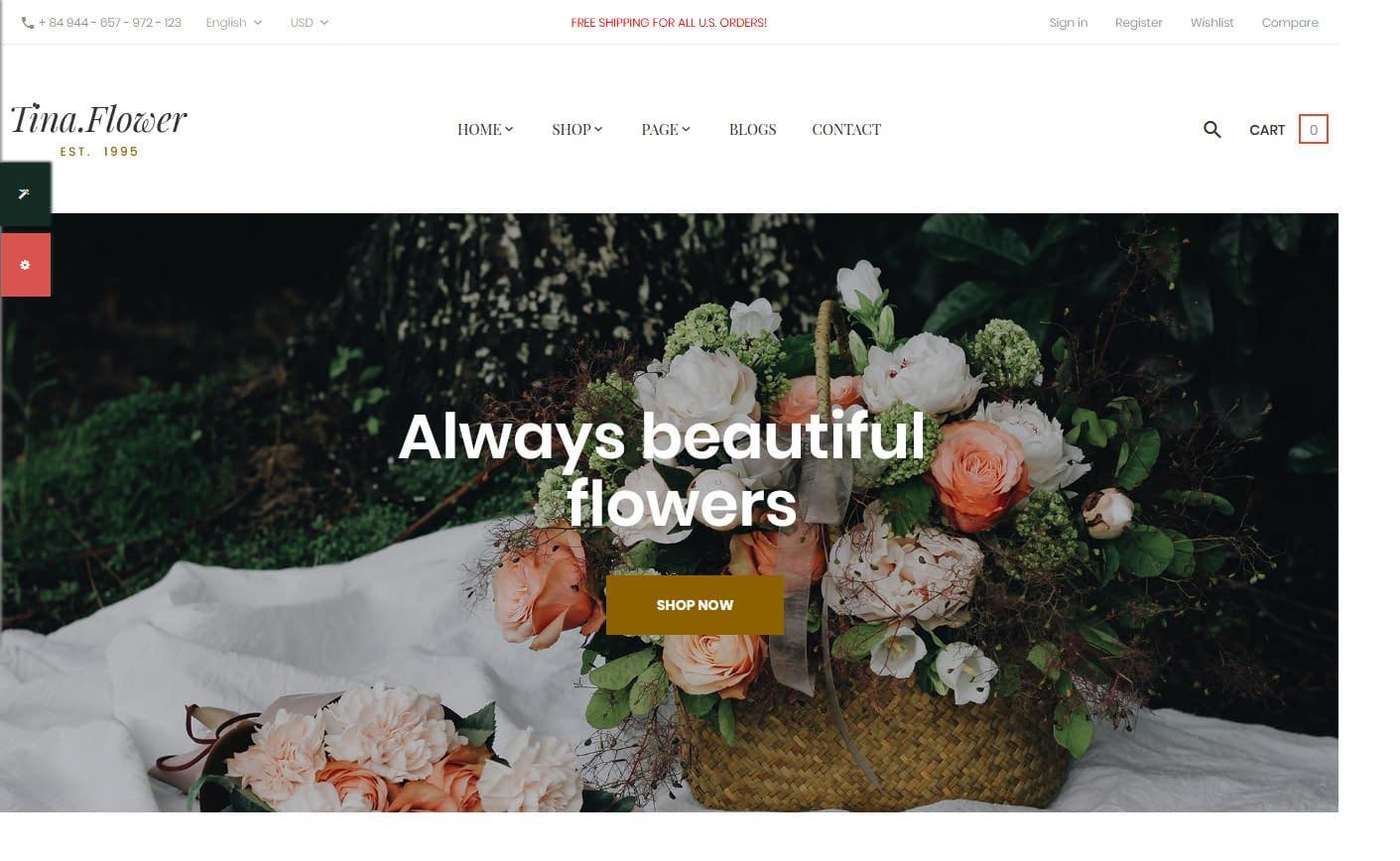 10+ Best Premium Florist and Floriculture WordPress Themes