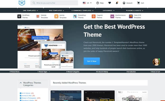 template-monster-WordPress-theme-store
