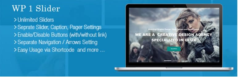 WP 1 Slider-WordPress Slider Plugin