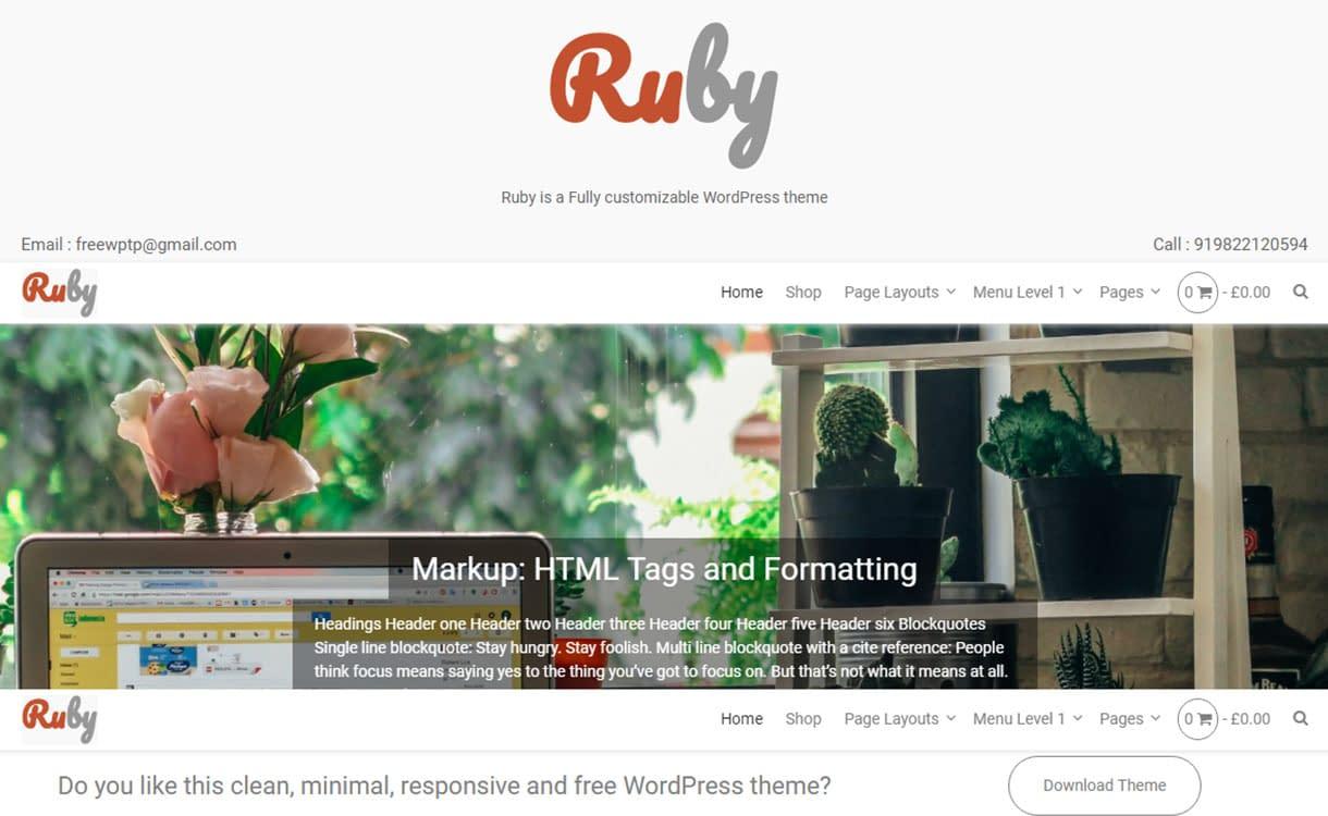 ruby-best-free-buddypress-wordpress-theme