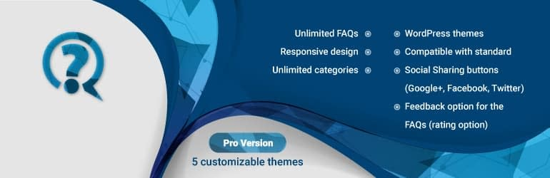 FAQ WD - Free WordPress FAQ Plugins