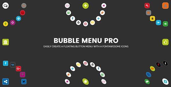 Best WordPress Floating Side Tab Plugins: Bubble Menu Pro