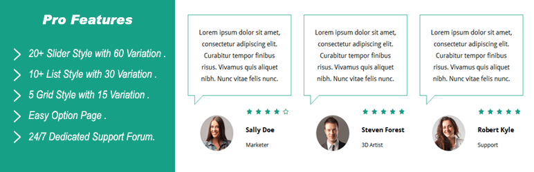 5+ Best Free WordPress Testimonial Plugins