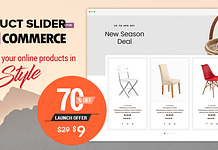 Product Slider for WooCommerce - Coupon and Deals