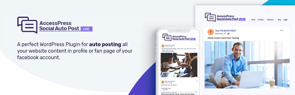 AccessPress Social Auto Post - Best Free WordPress Social Auto Post Plugin