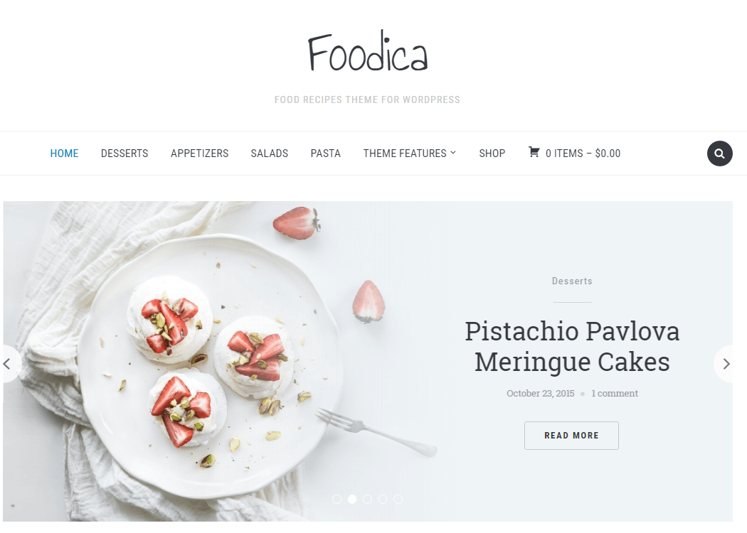 Foodica - WordPress Multipurpose Theme