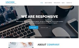Uncode Lite - Free WordPress Corporate Theme