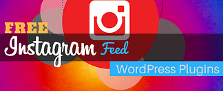 Free Instagram Feed WordPress Plugins