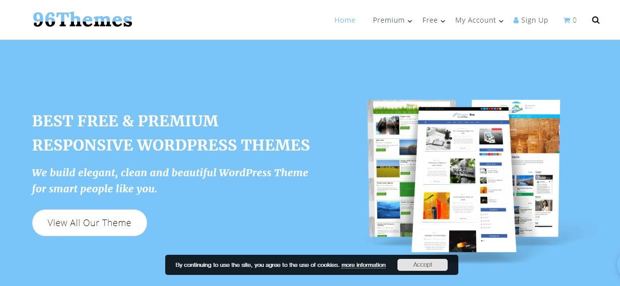 96Themes- WordPress Halloween Deals and Discounts