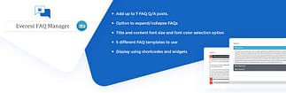 Everest FAQ Manager Lite - Free WordPress FAQ Plugin
