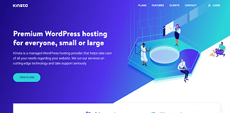 Kinsta Managed WordPress Hosting Service