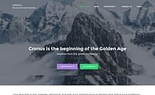 Cronus - Free Multipurpose WordPress Theme