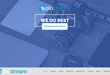 Wp-Soloone - Premium One Page WordPress Theme