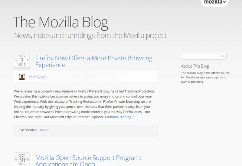 Mozilla-Blog