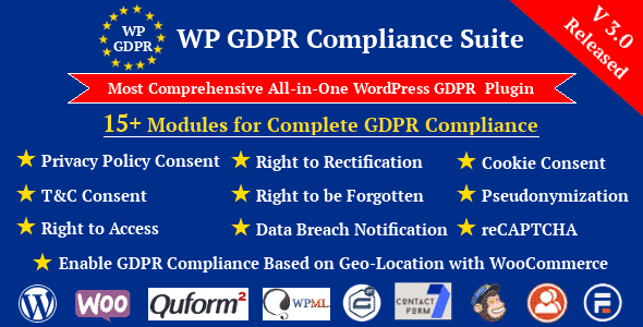Best WordPress GDPR Compliance Plugins: WP GDPR Compliance Suite