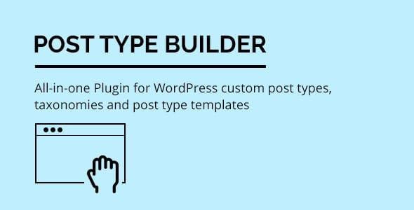 Post Type Builder
