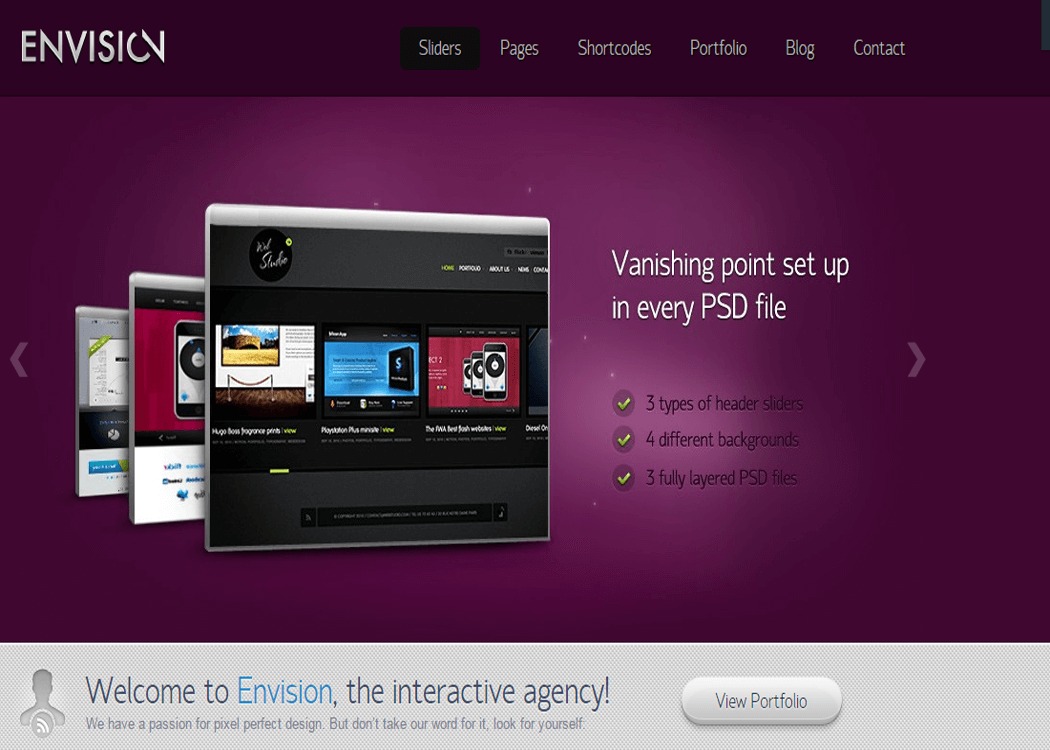Envision - WordPress Business Theme