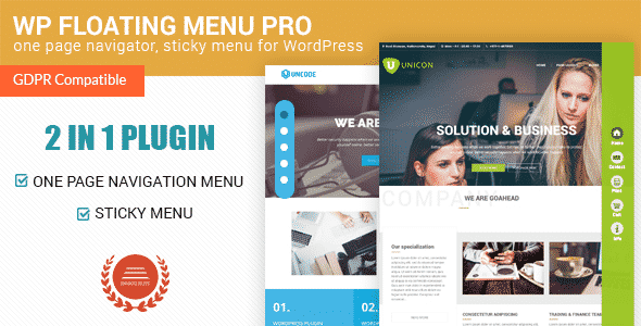 Best WordPress Floating Side Tab Plugins: WP Floating Menu Pro