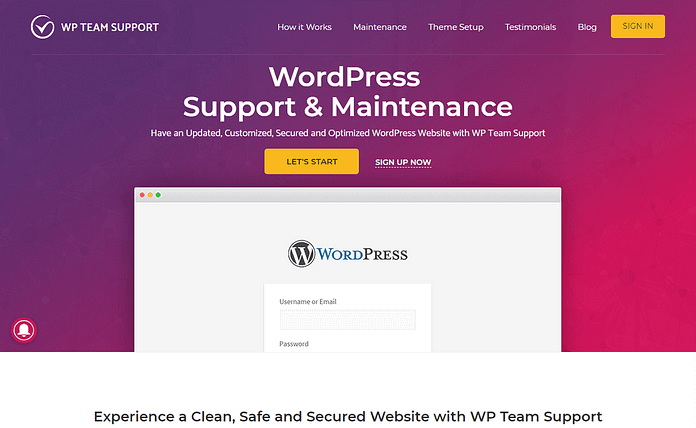 WP-Team-Support-Customization-Theme