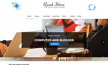 Read More - Free WordPress Blog Theme