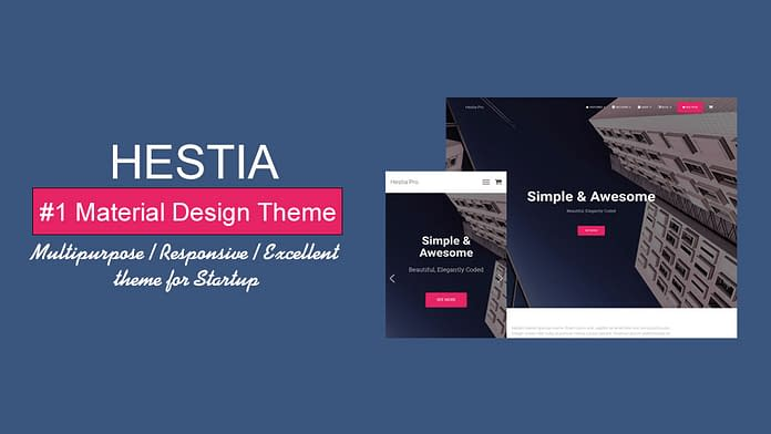 Hestia - Free WordPress Theme Review