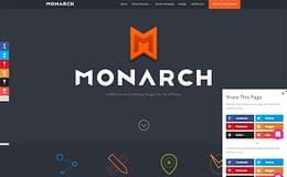 Monarch - Premium Social Sharing WordPress Plugin