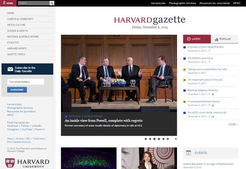 Harvard-Gazette
