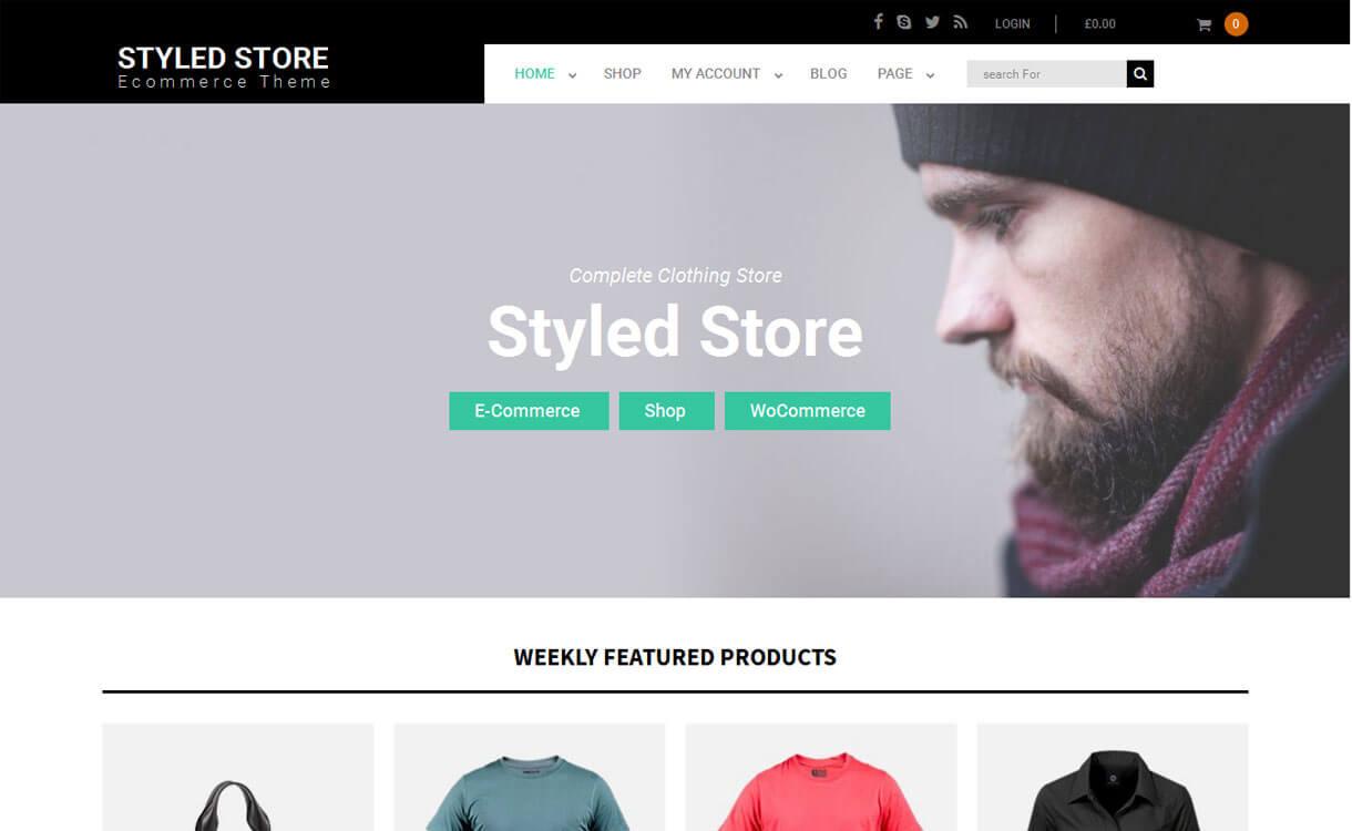 styled-store best wordpress ecommerce themes