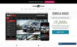 Gorilla Themes - Stylish WordPress Theme Store