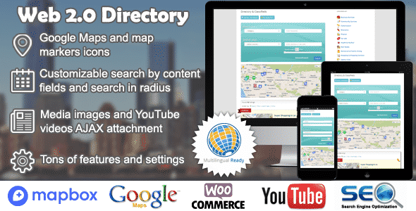 Best WordPress Business Directory Plugin: Web 2.0 Directory