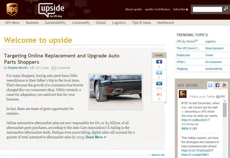 UPS-blog