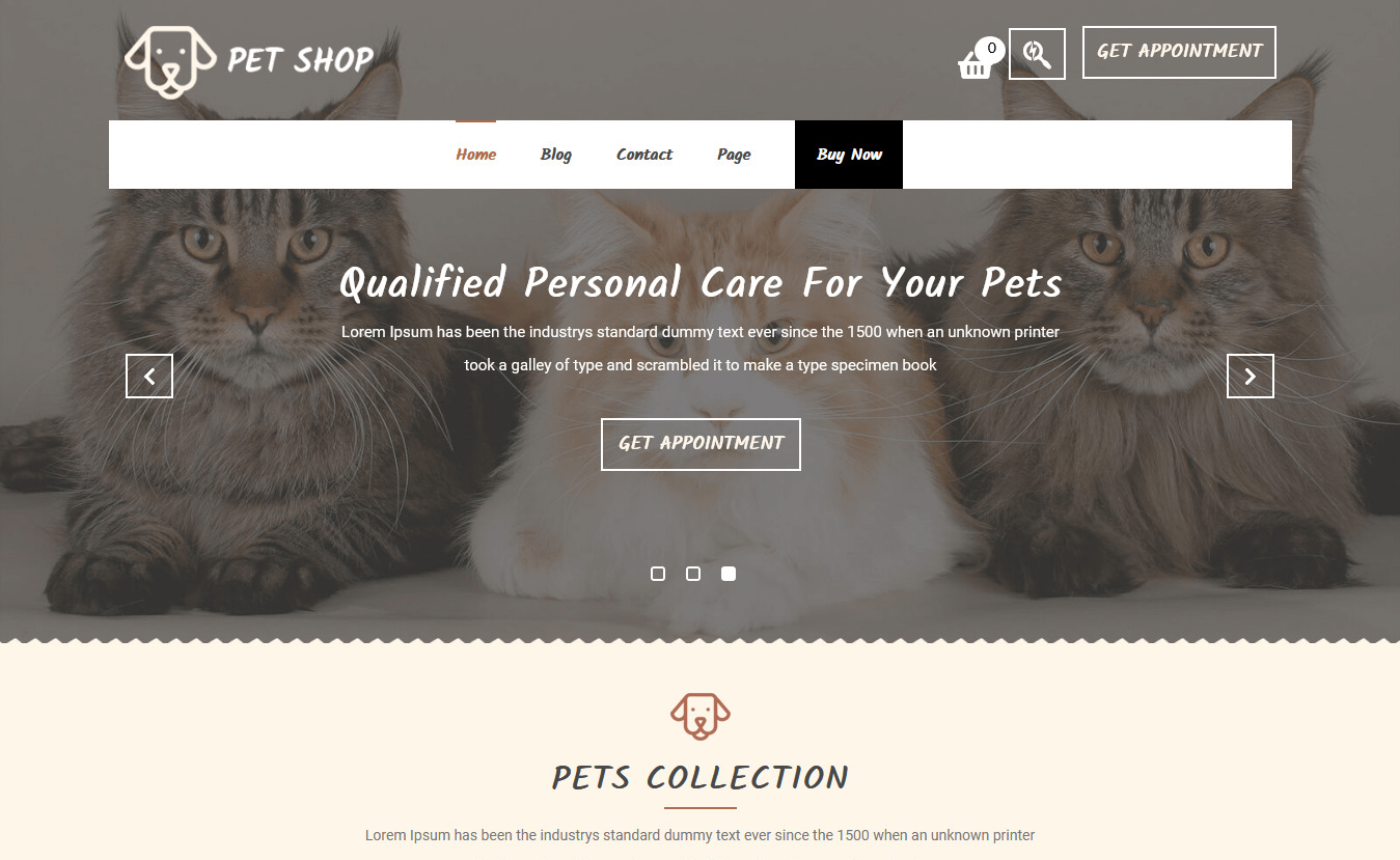 10+ Best Free Animal and Pet WordPress Themes