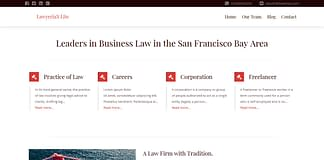 Lawyeriax Lite - Free WordPress Law Theme