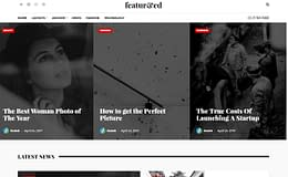 Featured - Powerful Magazine WordPress Theme