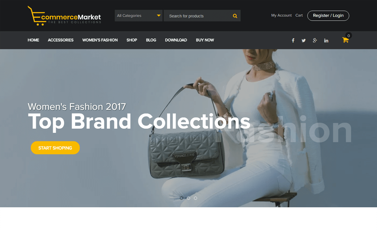 eCommerce Market-Best Free WordPress eCommerce Themes