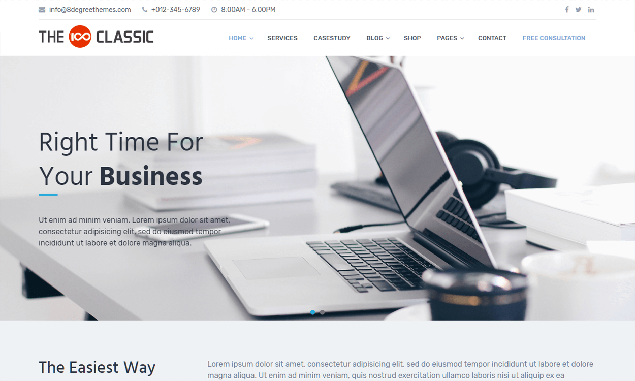 The100-Best Agency WordPress Themes and Templates (Free)