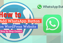 How to Add WhatsApp Button on WordPress Website? (Step by Step Guide)