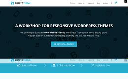 Shaped Theme - WordPress Theme Store
